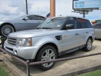 Armored Range Rover Custom SUV