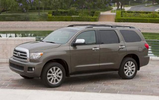 Armored Toyota Sequoia Custom SUV