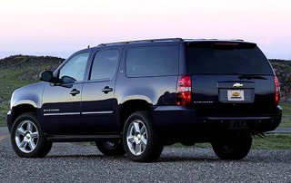 Armored Chevy Suburban Custom - Bullet Proof SUV