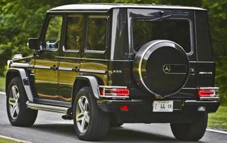 Armored Mercedes Benz G Class Custom SUV Wagon